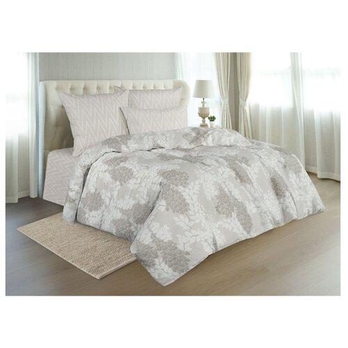 Постельное белье евростандарт Guten Morgen 901 70х70 см, поплин бежевый одеяло guten morgen поплин 140х205 см