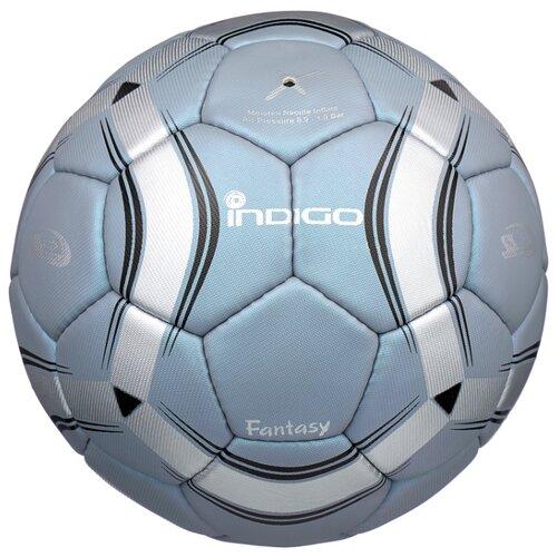 Футбольный мяч Indigo FANTASY C03 синий 5