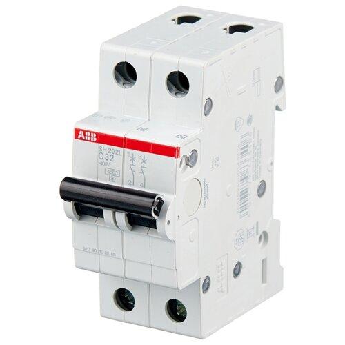 Автоматический выключатель ABB SH202L 2P (С) 4,5kA 32 А автоматический модульный выключатель abb 2п c sh202l 4 5ка 16а 2cds242001r0164