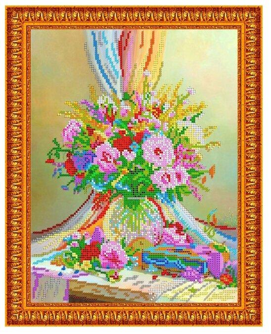 Светлица Набор для вышивания бисером Вдохновение 30 х 24 см (275)