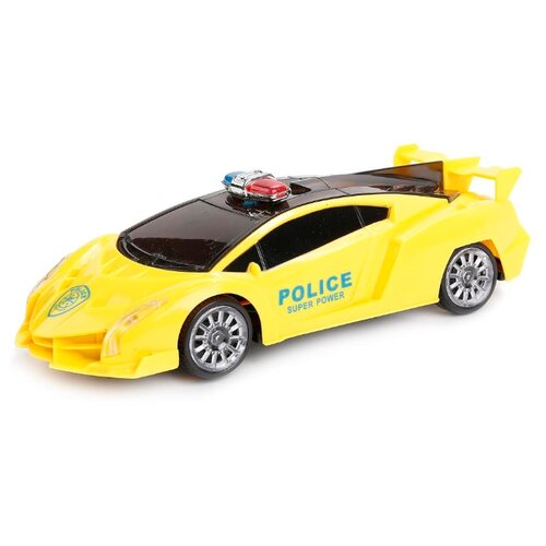 Легковой автомобиль Наша игрушка Полиция (399B-01) 24 см желтый игрушка