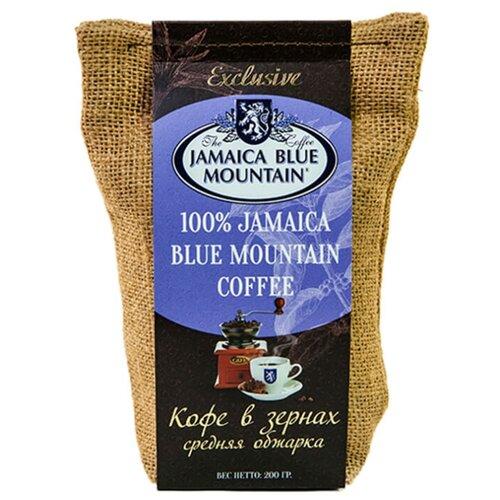 Кофе в зернах Jamaica Blue Mountain, средняя обжарка, арабика, 200 г