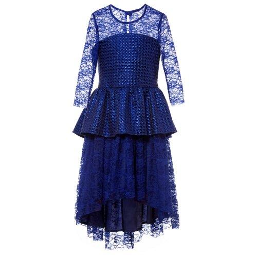 Купить Платье Смена размер 164/84, ярко-синий, Платья и сарафаны