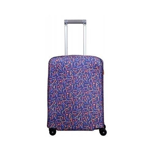 Чехол для чемодана ROUTEMARK «Мирта» ART.LEBEDEV SP310 S, синий чехол для чемодана routemark искры и блестки art lebedev sp310 s фиолетовый