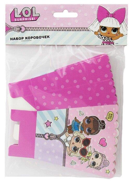 Пакеты подарочные WINTER WINGS бумажные ламинированные с тиснением, 33 x 46 x 10 см