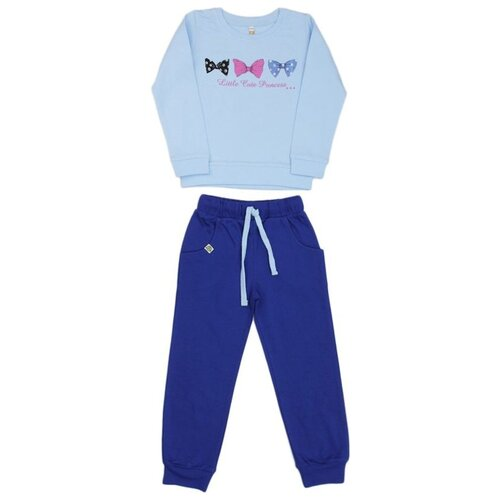 Спортивный костюм MisterBanana размер 98-104, голубой