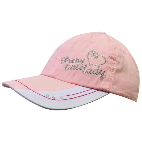 Купить Бейсболка Be Snazzy размер 48, светло-розовый, Головные уборы
