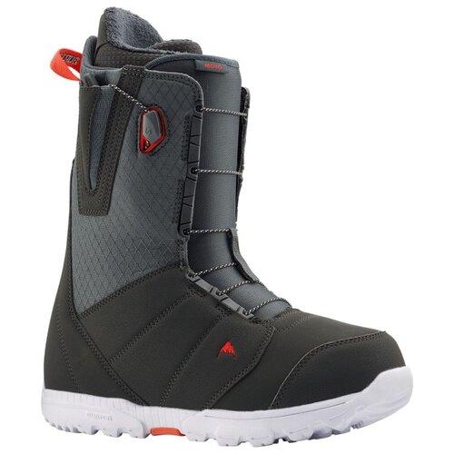 Ботинки для сноуборда BURTON Moto 9 (BURTON) grey/red 2019-2020