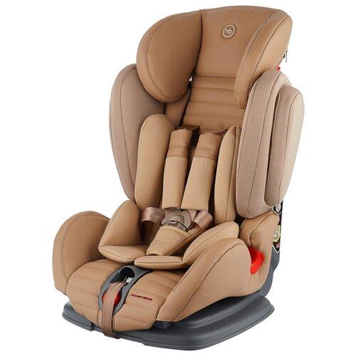 Автокресло группа 1/2/3 (9-36 кг) Happy Baby Mustang, beige