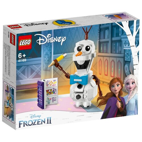 Конструктор LEGO Disney Princess 41169 Frozen II Олаф конструктор lego disney princess frozen ii деревня в эренделле 521 дет 41167