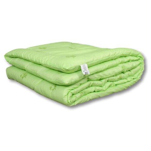 Одеяло АльВиТек Bamboo всесезонное светло-салатовый 140 х 205 см