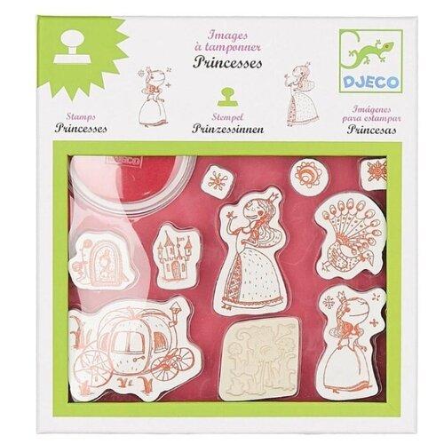 Набор штампов DJECO Принцессы (08810)