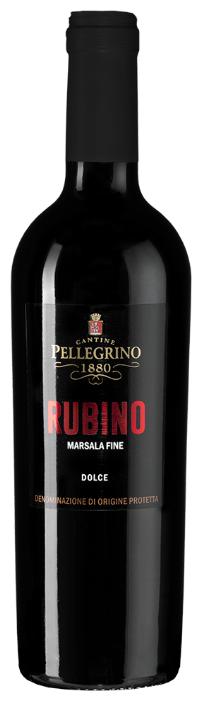 Марсала Pellegrino Marsala Fine Rubino Dolce, 0.5 л