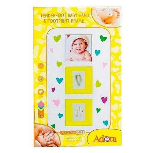 Купить ADORA Candy рамка для фотографий и создания слепков (NP085), Гипс