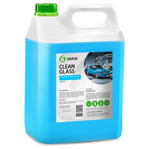 Очиститель для автостёкол GraSS Clean Glass 133101, 5 л