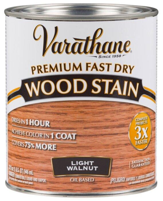 Морилка масляная Varathane Fast Dry Wood Stain