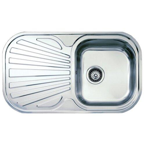 Врезная кухонная мойка 83 см TEKA Stylo 1B 1D нержавеющая сталь/полированная кухонная мойка teka classic 1b mctxt