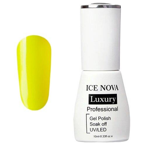 Купить Гель-лак для ногтей ICE NOVA Luxury Professional, 10 мл, 017 lemon