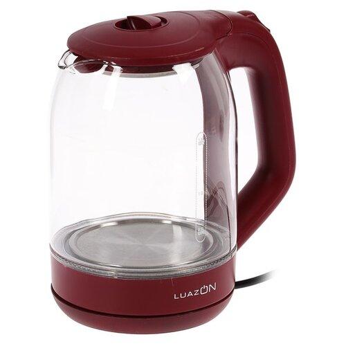 Чайник Luazon LSK-1809, red