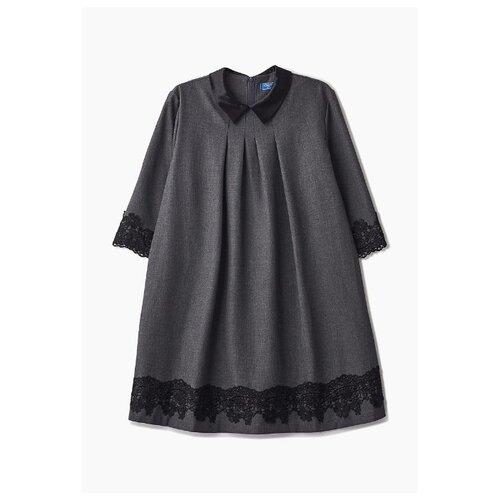 Платье Смена размер 146/84, серый