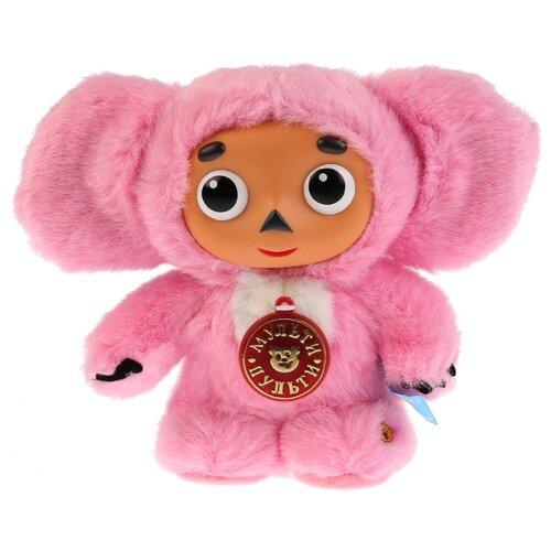 Мягкая игрушка Мульти-Пульти Чебурашка розовый 17 см