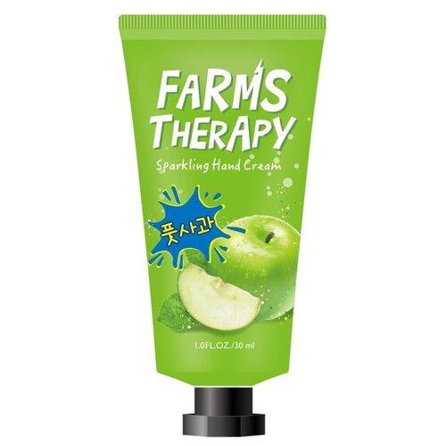Крем для рук Farms Therapy Зеленое яблоко 30 мл крем для тела farms therapy farms therapy fa048lwenjy2