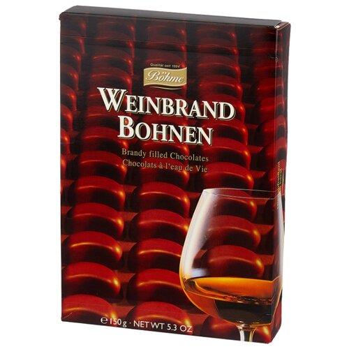 Набор конфет Bohme Weinbrand Bohnen с начинкой бренди, 150 г набор конфет mieszko с бренди 180 г