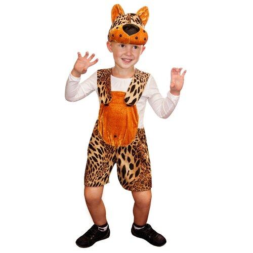 Купить Костюм Elite CLASSIC Леопард, коричневый, размер 28 (116), Карнавальные костюмы