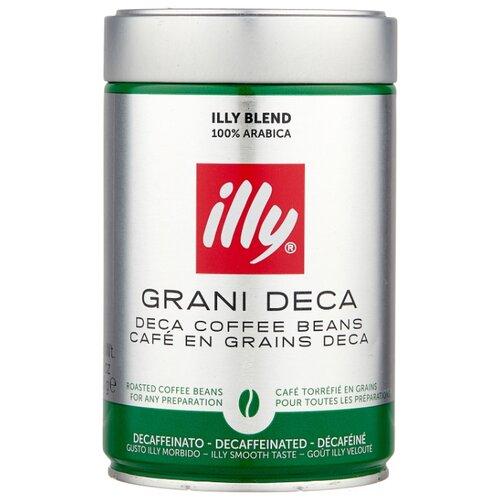 Кофе в зернах Illy Espresso Decaffeinato без кофеина, арабика, 250 г illy
