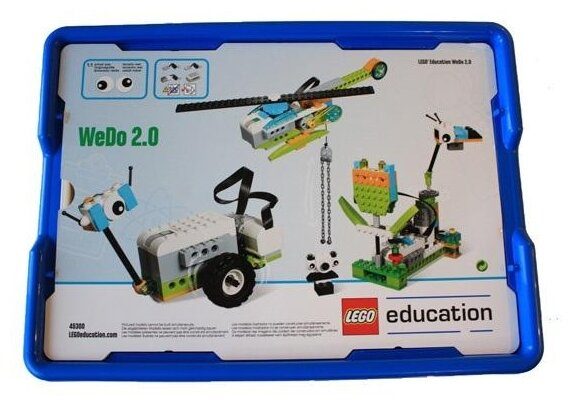Электромеханический конструктор LEGO Education WeDo 2.0 Базовый набор 45300