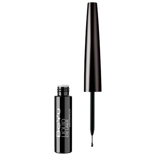 цена на BeYu Водостойкая жидкая подводка для глаз Liquid Eyeliner Waterproof, оттенок 10 deep black