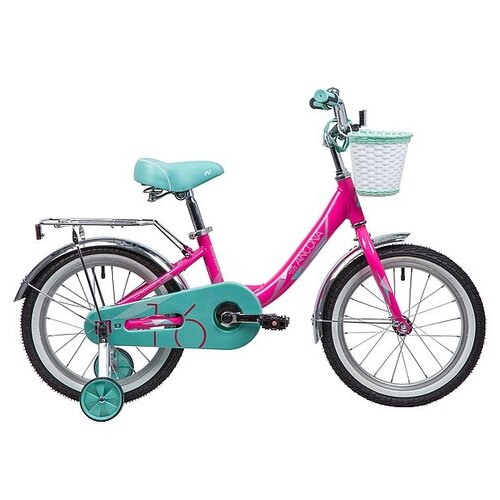 Детский велосипед Novatrack Ancona 16 (2019) розовый (требует финальной сборки)
