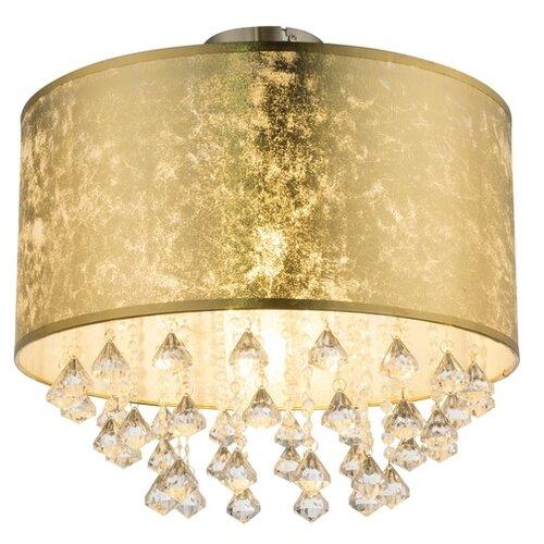 люстра потолочная globo amy 1х60вт e27 золотой Люстра Globo Lighting Amy 15187D3, E27, 60 Вт