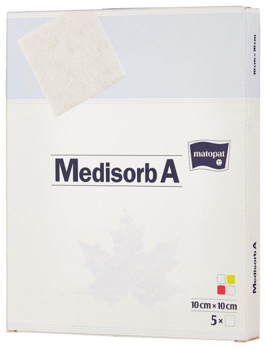 Matopat повязка Medisorb A 10 см х 10 cм (10х10 см)