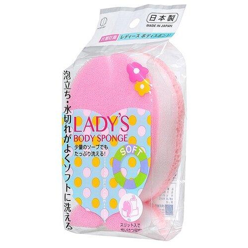 Губка Kokubo LADY`s Рыбка розовый