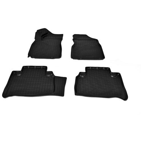 Комплект ковриков NorPlast NPA11-C24-085 Geely Emgrand X7 4 шт. черный