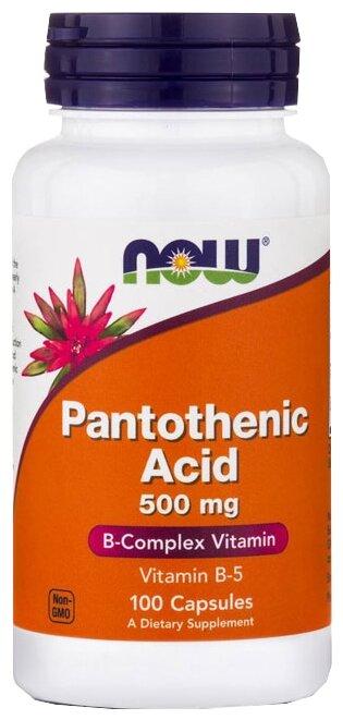 Pantothenic Acid капс. №100 — купить по выгодной цене на Яндекс.Маркете