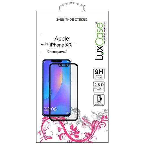 Купить Защитное стекло LuxCase 2.5D для Apple iPhone Xr синий