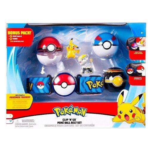 Игровой набор РОСМЭН Pokemon Пояс для Поке-тренеров (делюкс) 36606Игровые наборы и фигурки<br>