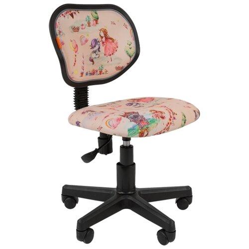 Компьютерное кресло Chairman Kids 106 детское, обивка: текстиль, цвет: принцессы компьютерное кресло chairman kids 106 детское обивка текстиль цвет автобусы