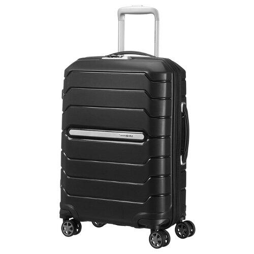Чемодан Samsonite Flux S 44 л, Черный/Black чемодан samsonite s cure s 34 л