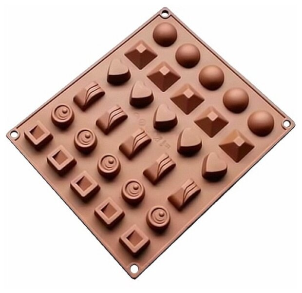 Форма для мороженого FidgetGo Ассорти, 30 ячеек