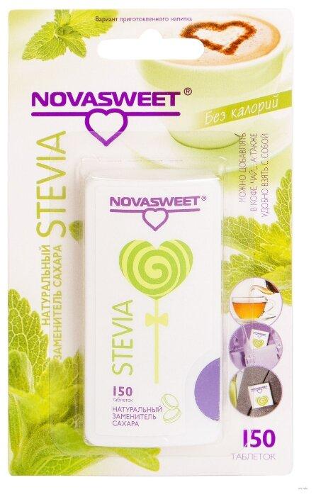 NOVASWEET Заменитель сахара Stevia таблетки