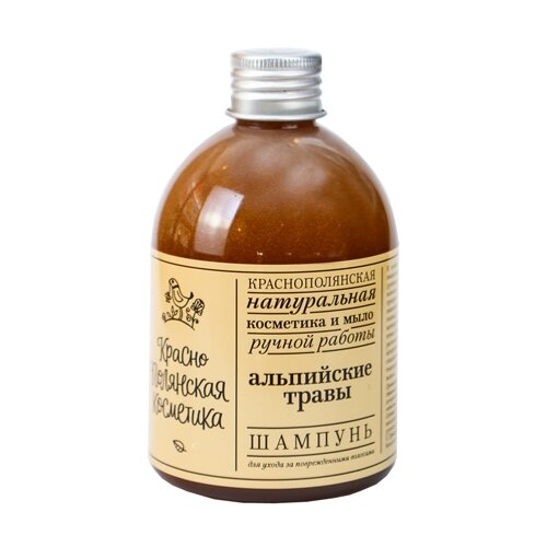 Краснополянская косметика шампунь Альпийские травы для поврежденных волос 250 мл недорого
