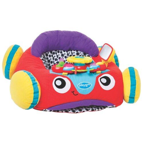 Купить Интерактивная развивающая игрушка Playgro Музыкальный автомобиль красный/желтый/фиолетовый, Развивающие игрушки