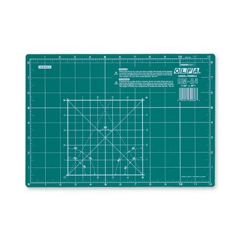 OLFA Коврик OL-CM-A4 зеленый коврик непрорезаемый olfa ol cm a1