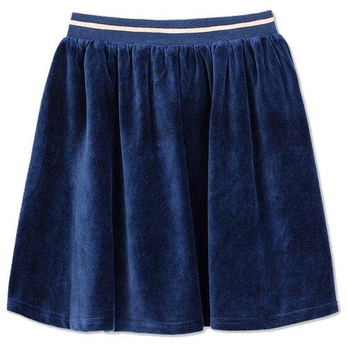 Фото - Юбка playToday размер 140, темно-синий юбка oodji ultra цвет темно синий 14101080 33038 7900n размер s 44