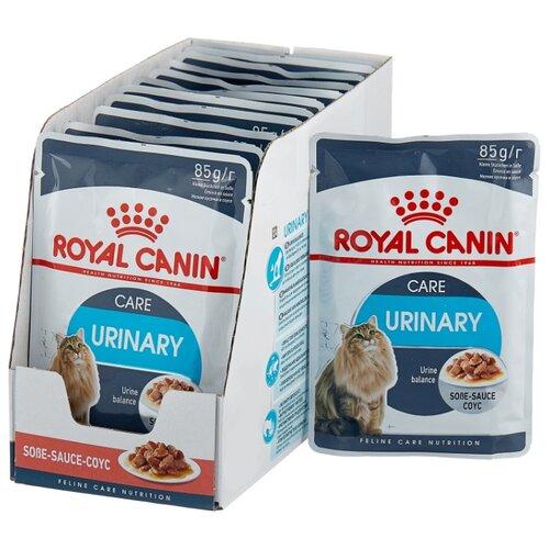 Корм для кошек Royal Canin для профилактики МКБ 12шт. х 85 г (кусочки в соусе) cat wet food royal canin kitten sterilized kitches for kittens pieces in sauce 24 85 g