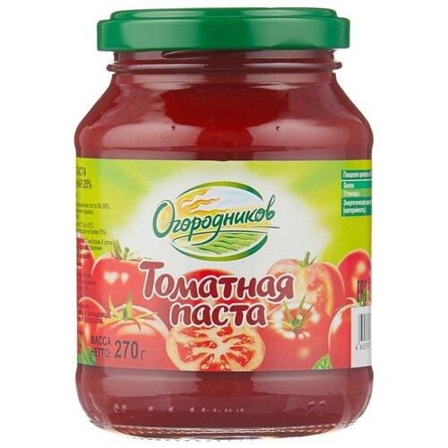 Огородников томатная паста Оригинальная 270 г кубань продукт паста томатная 70 г