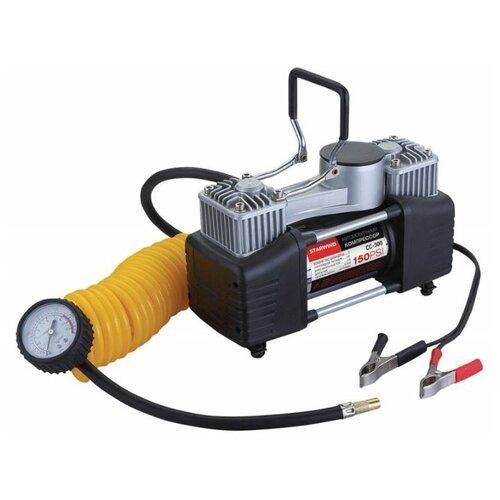 Автомобильный компрессор STARWIND CC-300 черный